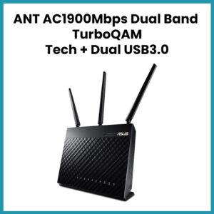 ANT AC1900Mbps Dual Band TurboQAM Tech +Dual USB3