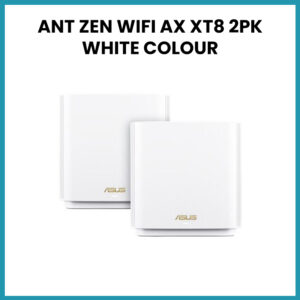 ANT ZEN WIFI AX XT8 2PK WHITE COLOUR