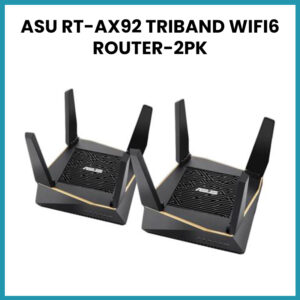 ASU RT-AX92 TRIBAND WIFI6 ROUTER-2PK