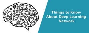 Deep Learning Network Optimization