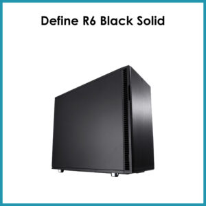 Define R6 Black Solid